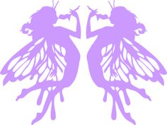fairies clipart purple