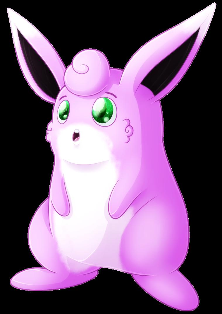 Type collab fairy wigglytuff. Fairies clipart purple