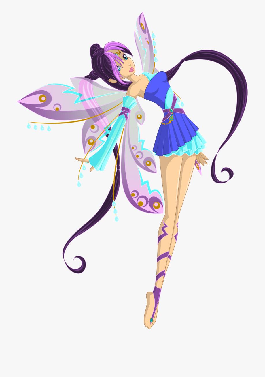 Fairy cliparts transparent png. Fairies clipart purple