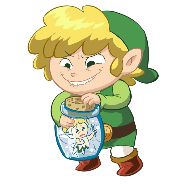 Zelda collab fairy bottle. Fairies clipart sad