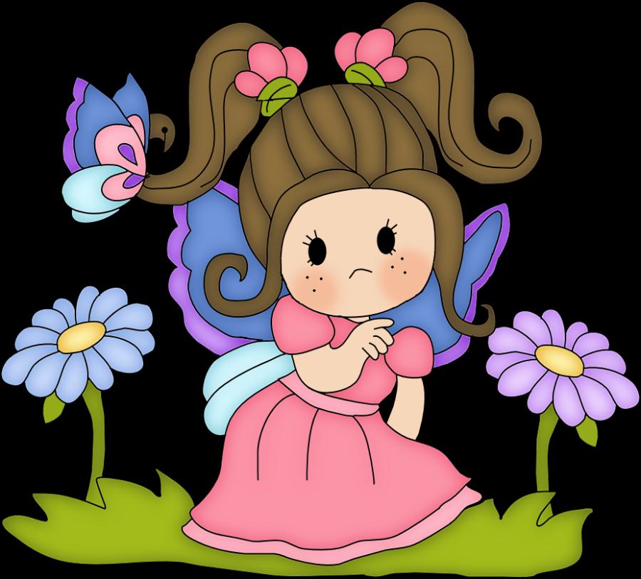 Minus say hello pinterest. Fairy clipart scrapbook