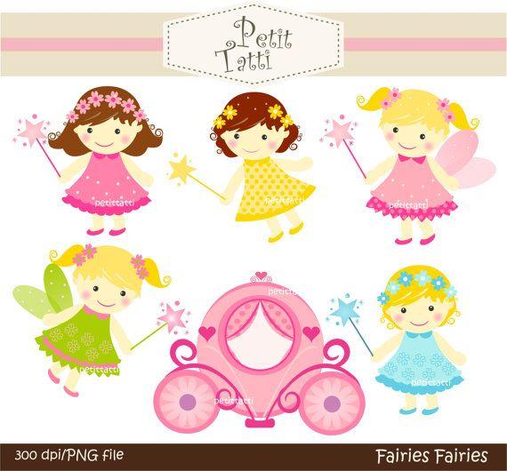 Fairy clipart scrapbook. Cute baby girl instant