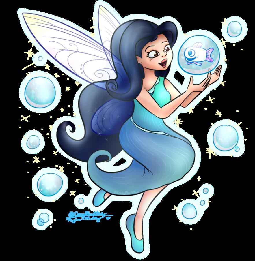 Disney contestentry by crazyplantmae. Fairy clipart silvermist