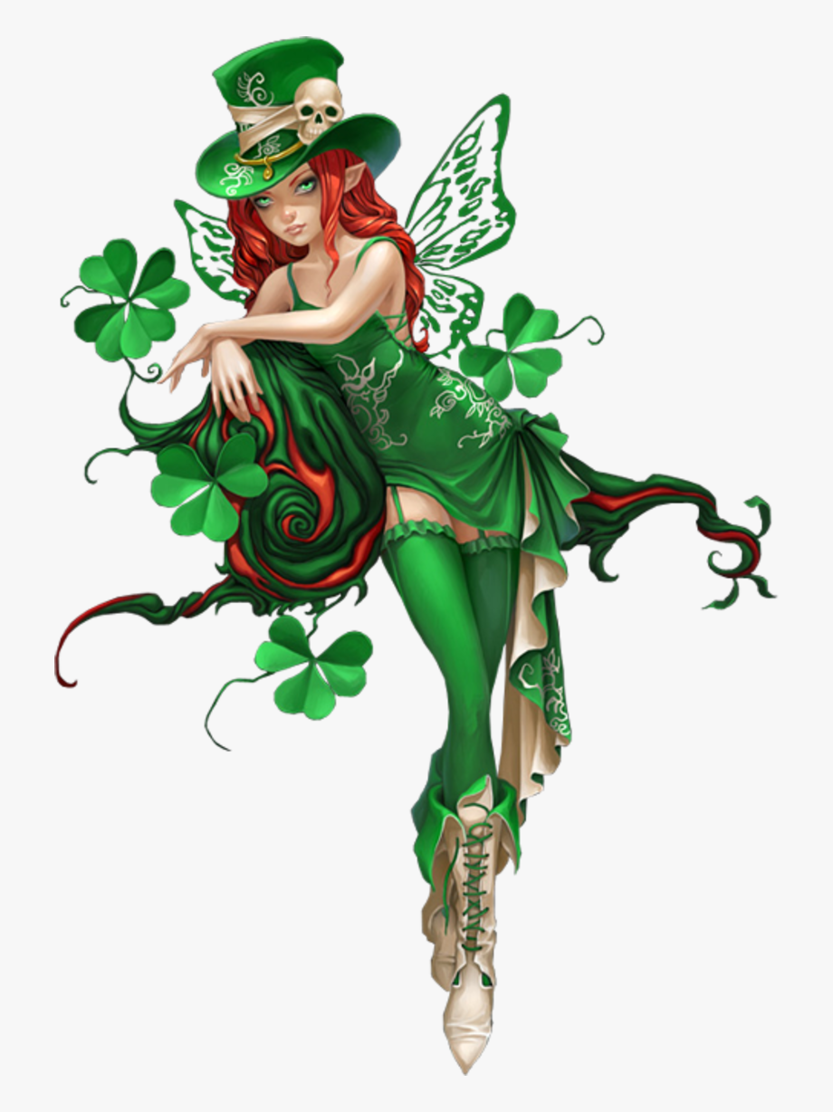 Fairy clipart st patrick's day. Tubes patrick png photoshop