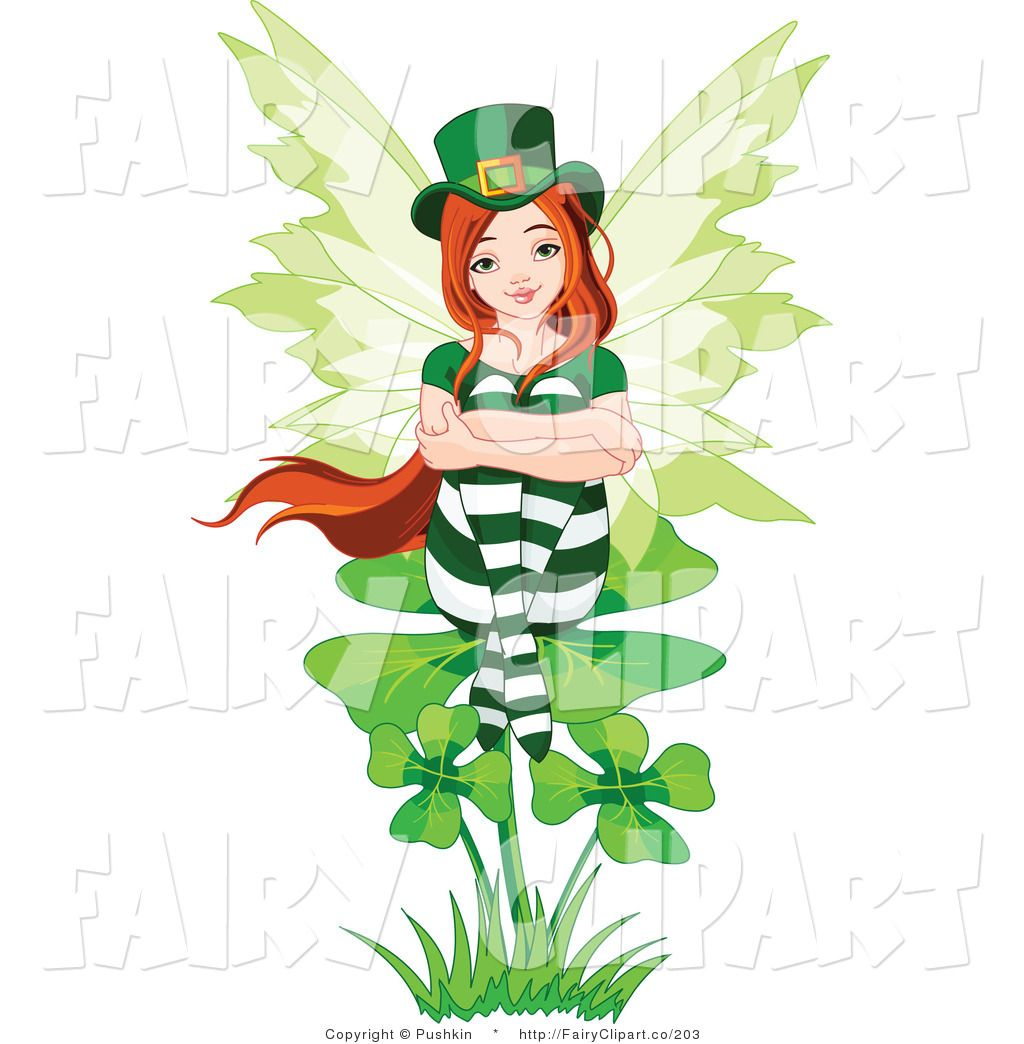 Fairies clipart st patrick's day. Patrick s pictures clip