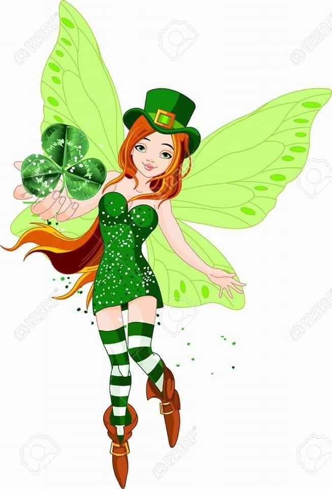 Fairies clipart st patrick's day. Pin by nina on