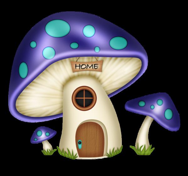 Mushrooms clipart fairy village. Champignons png tubes shroooms
