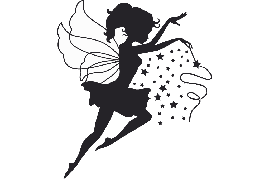 Magic clipart fairy godmother. Princess with wand vector