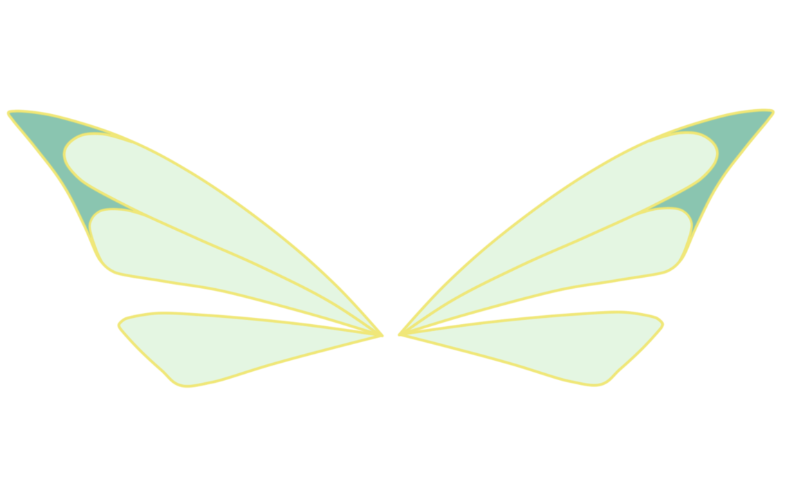 Fairy clipart wing. Bloom wings by astralblu