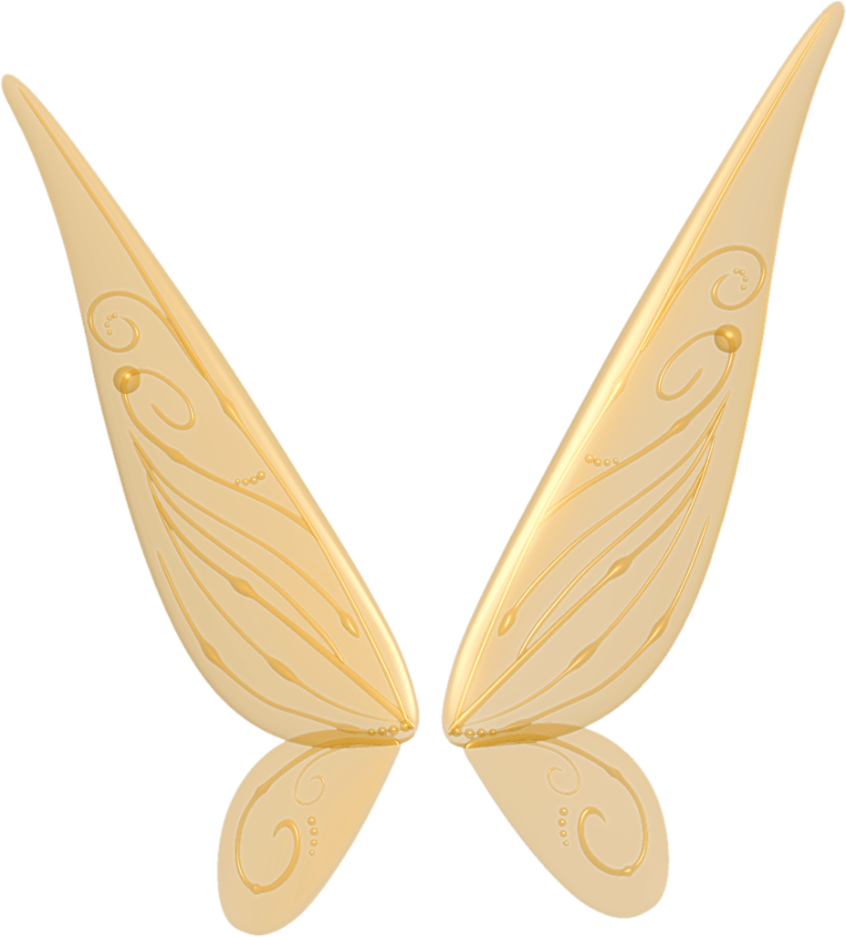 Free wings . Fairy clipart wing