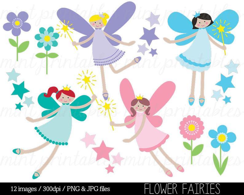 Fairy clipart flower fairy. Clip art fairies crown