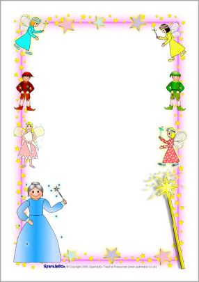 A lot of free. Fairy clipart frame