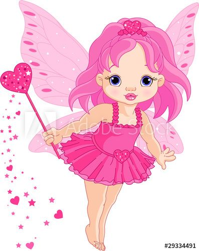 Cute little baby irin. Fairy clipart love