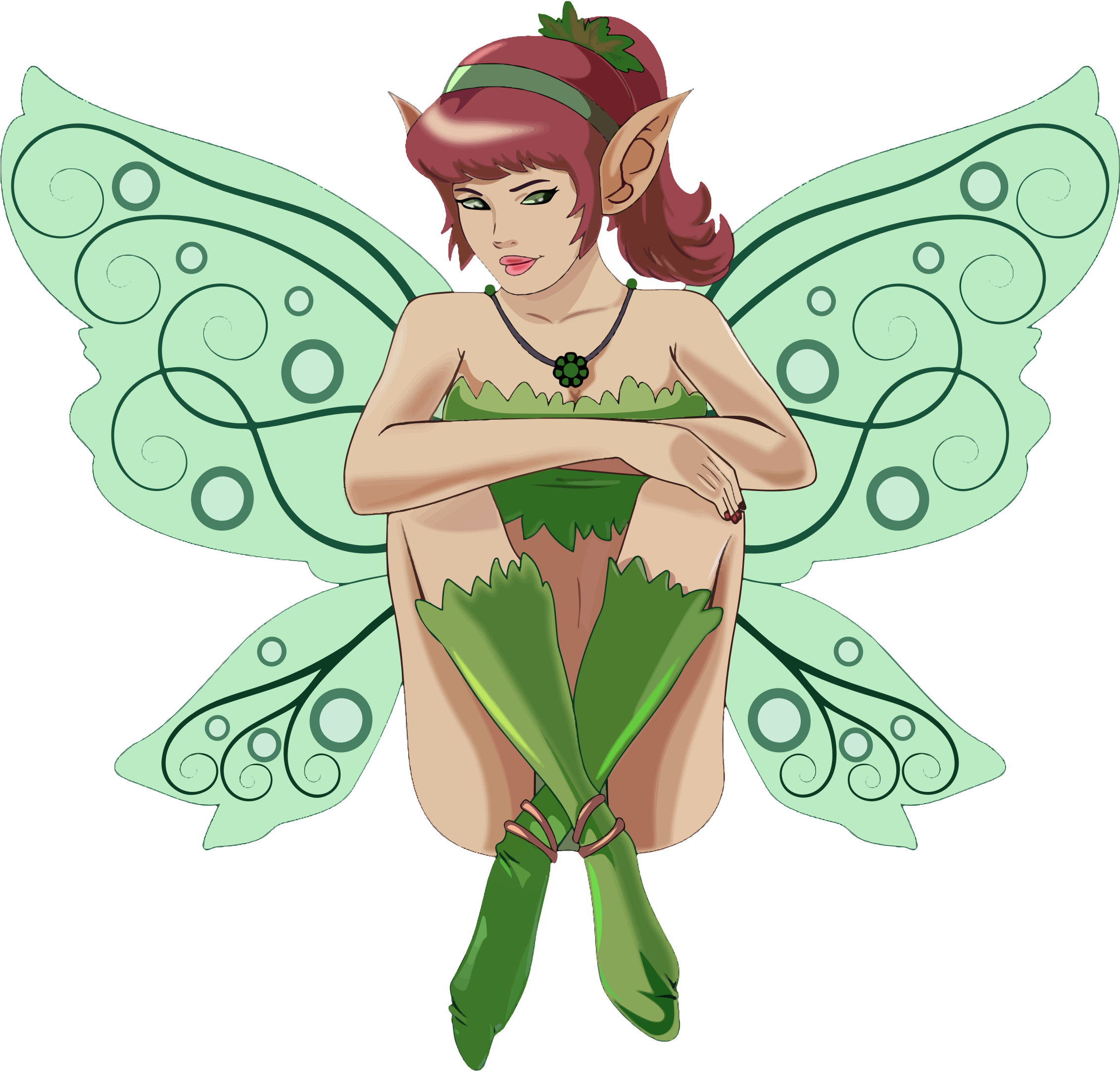 Sitting icons png free. Fairy clipart moon