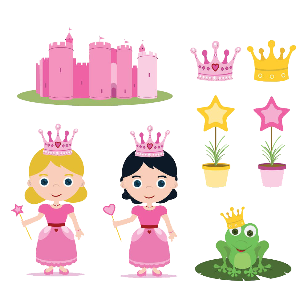 Fairy clipart princess and frog. The prince little red