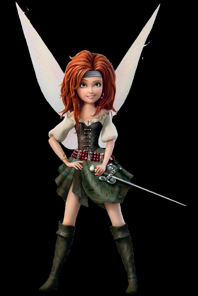 Fairy clipart scrapbook. Zarina the pirate anime