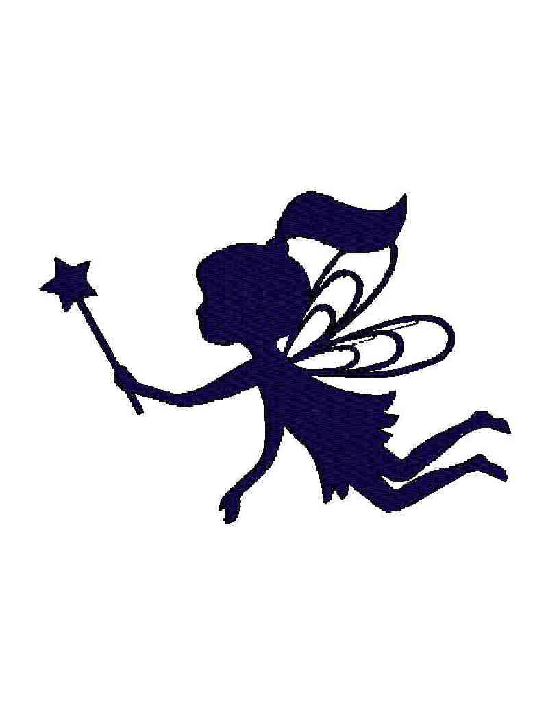 Fairy clipart simple. Free silhouette download clip