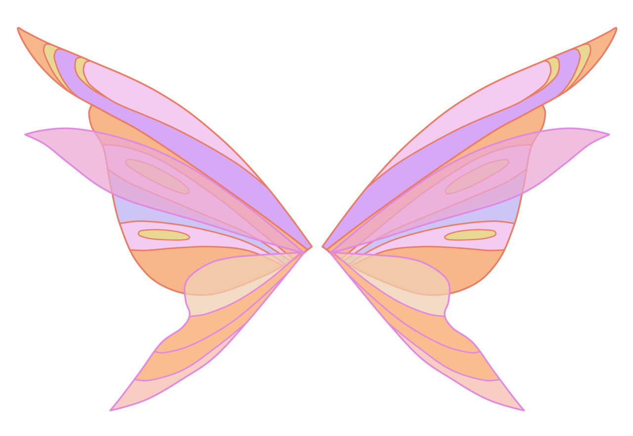 Stella harmonix wings by. Fairy clipart simple
