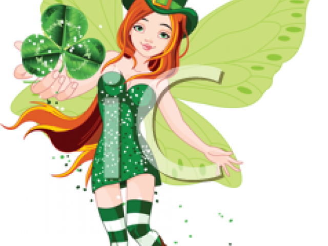 Free download clip art. Fairy clipart st patrick's day