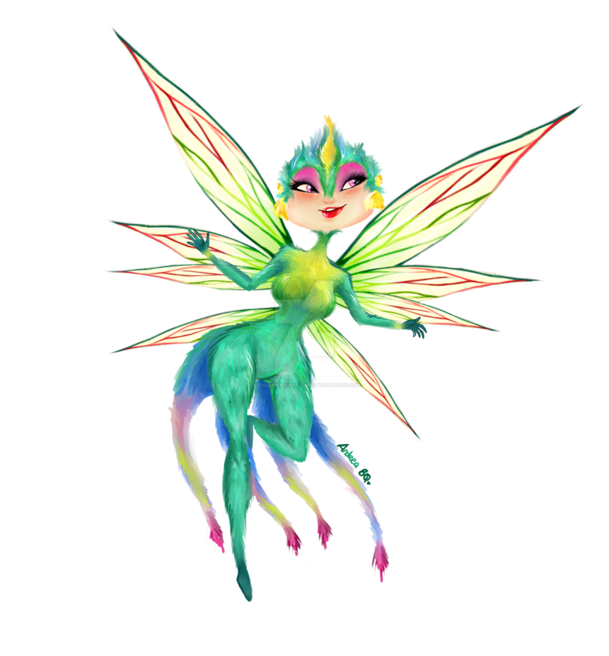 Fairy clipart tooth fairy. By aveku chan kataang