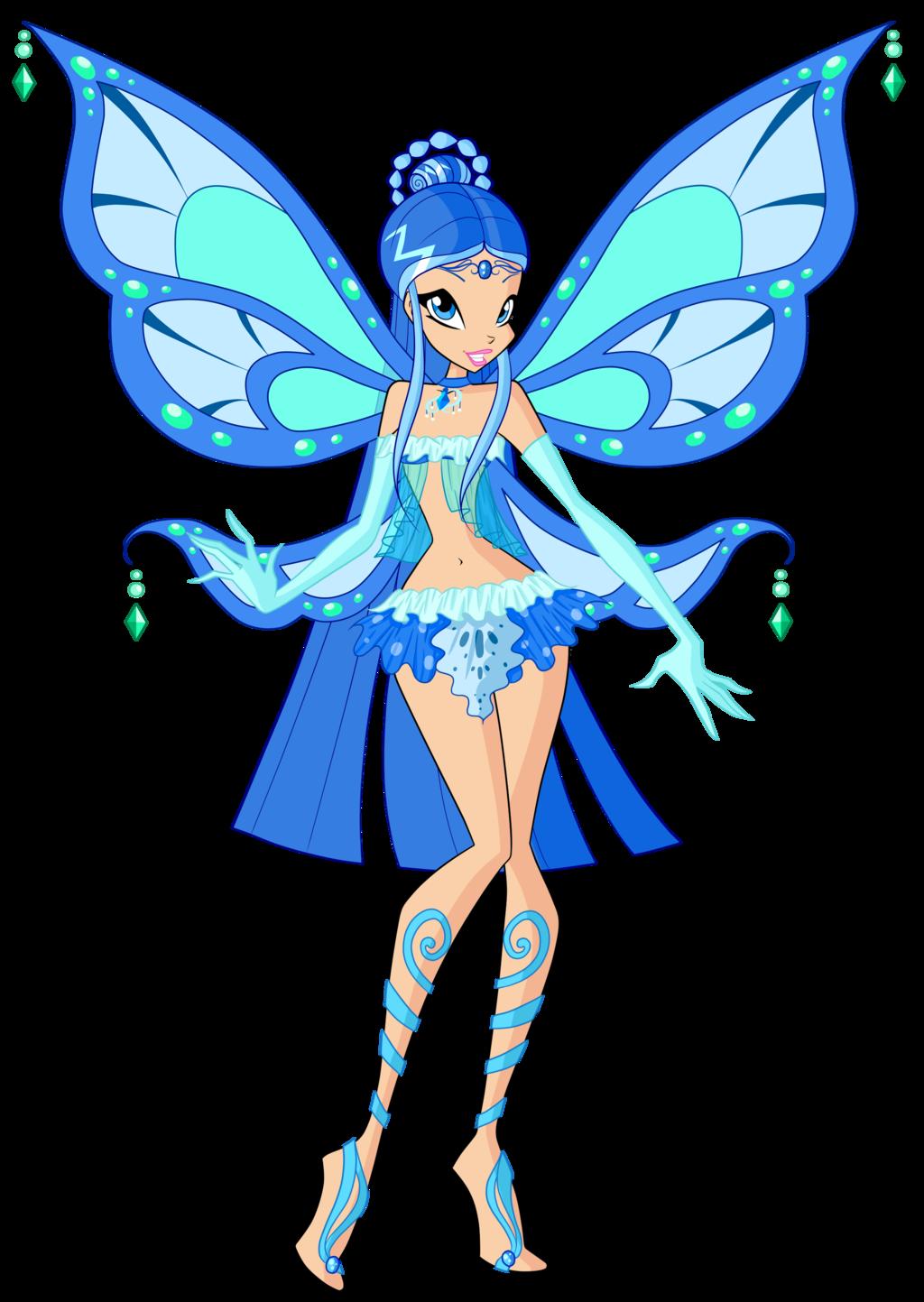 Azara enchantix by feeleam. Fairies clipart water