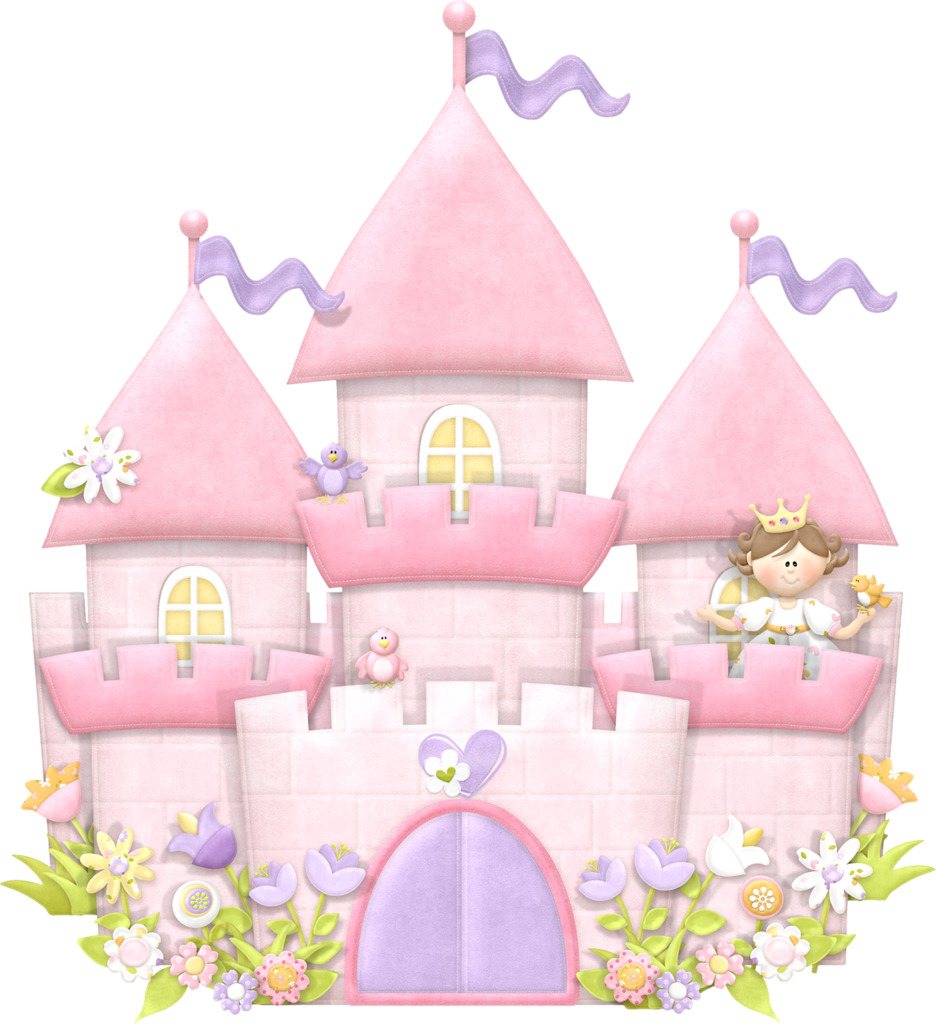 Fairytale clipart 3d castle. Maryfran png princess flower