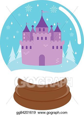 Eps illustration fairy tale. Fairytale clipart beautiful castle