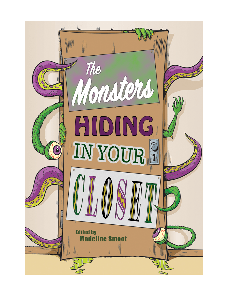 Fairytale clipart book genre. The monsters hiding in