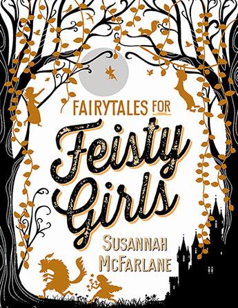 Fairytales for feisty girls. Fairytale clipart book genre