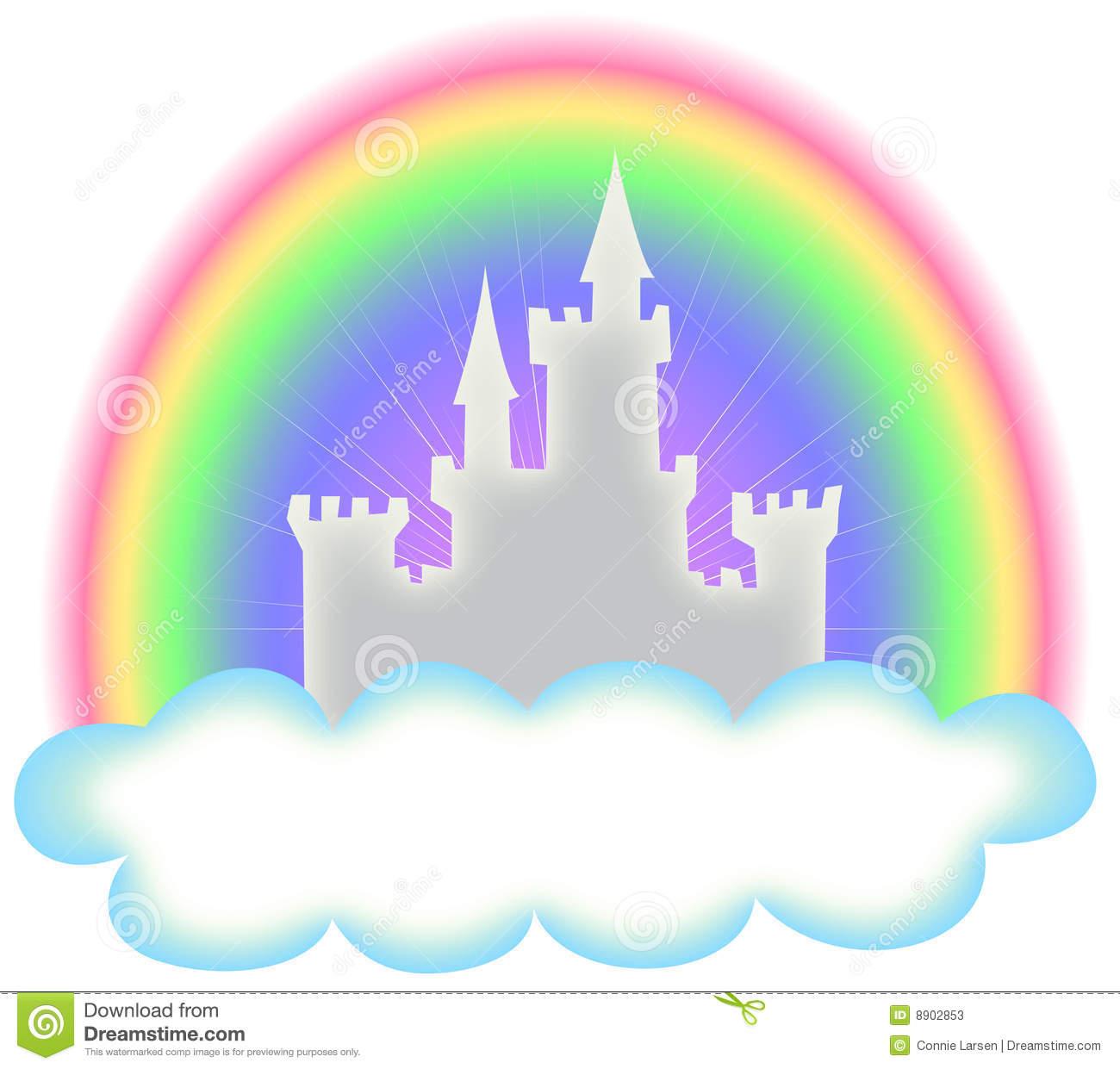 And rainbow panda free. Fairytale clipart castle