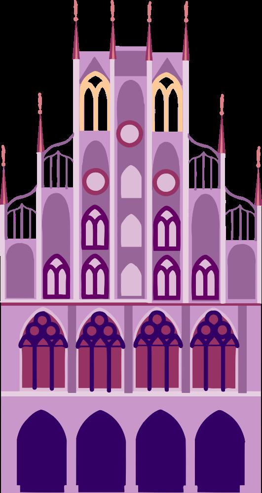 Onlinelabels clip art . Fairytale clipart castle