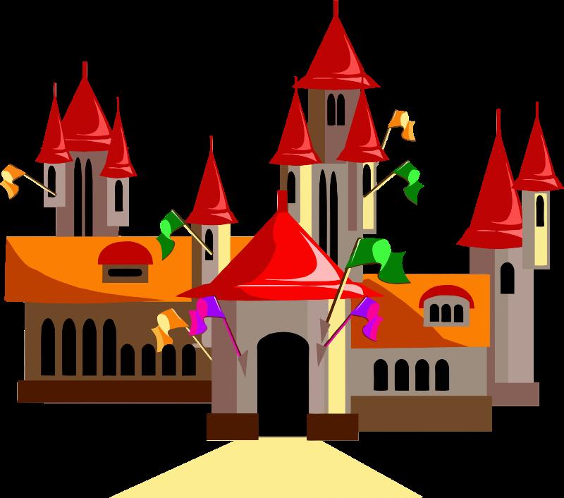 Fairytale clipart castle. Medium image png