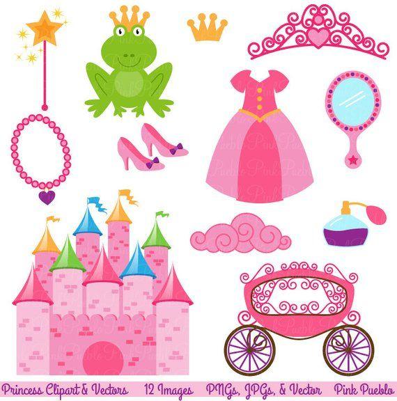 Fairytale clipart clip art. Princess storybook
