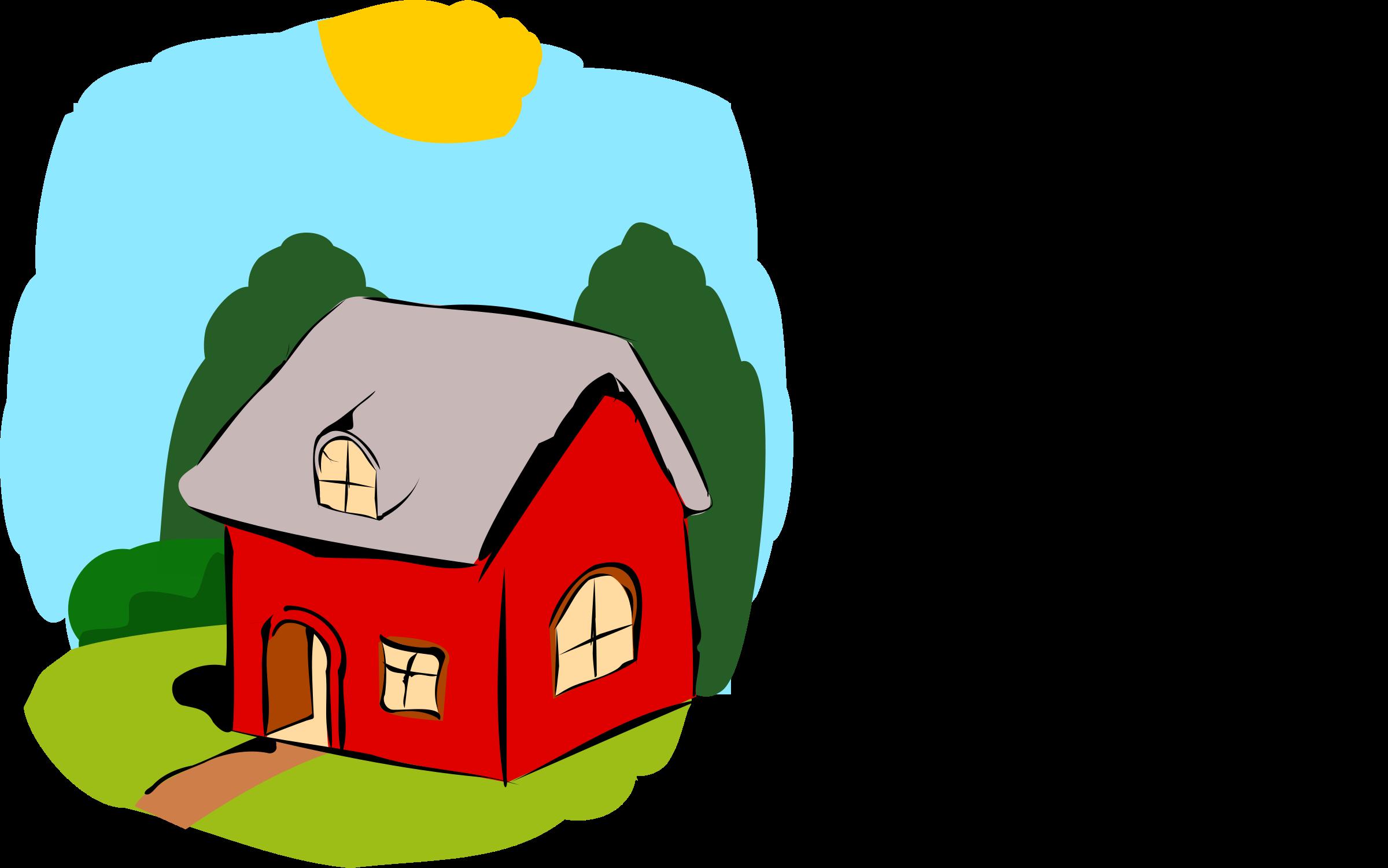 Fairy tale house big. Fairytale clipart clip art
