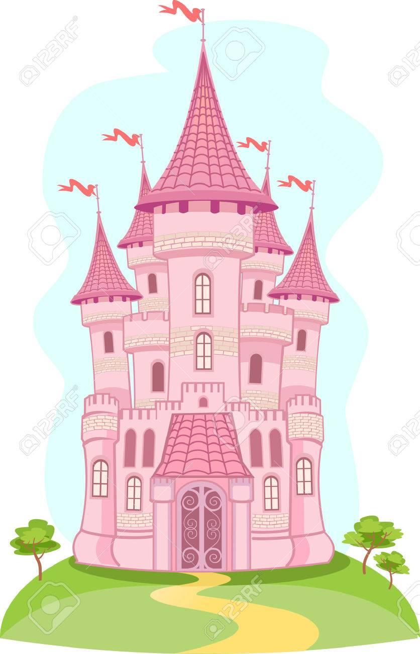 Fairytale clipart fairytale palace. Fairy tale castle portal