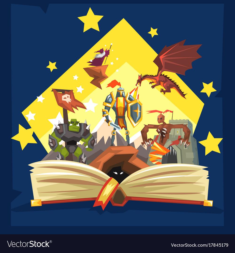 Open x free clip. Fairytale clipart fiction book