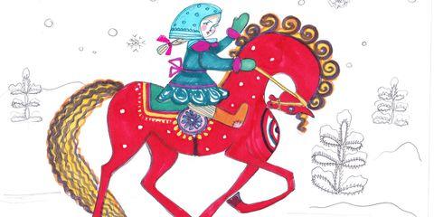 Fairytale clipart folklore. Olga vilshenko creates fashion