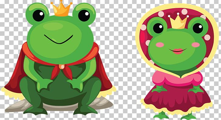 Fairytale clipart frog prince. The cartoon drawing png