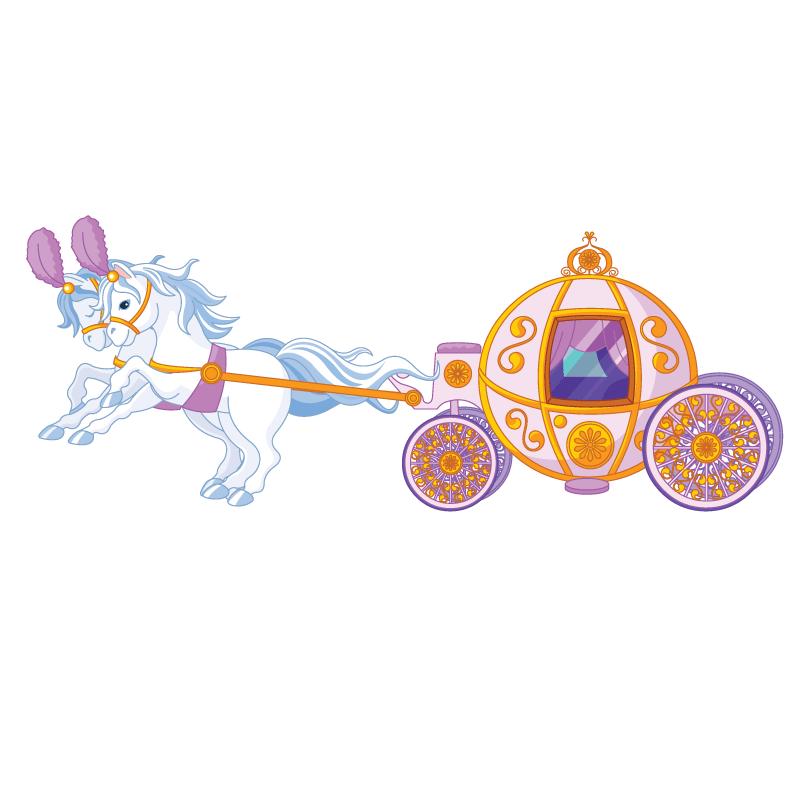Fairytale clipart horse. Fairy tale carriage wheelchair