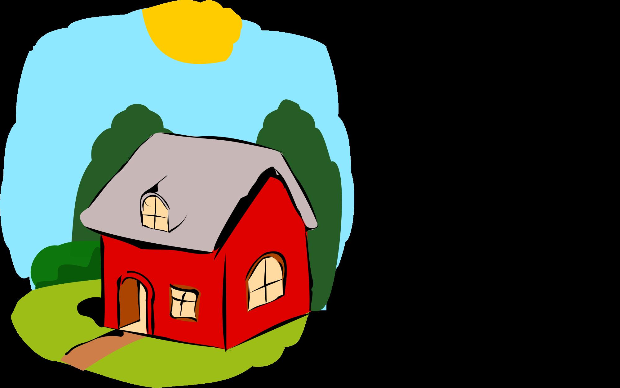 Fairytale clipart illustration. File fairy tale house