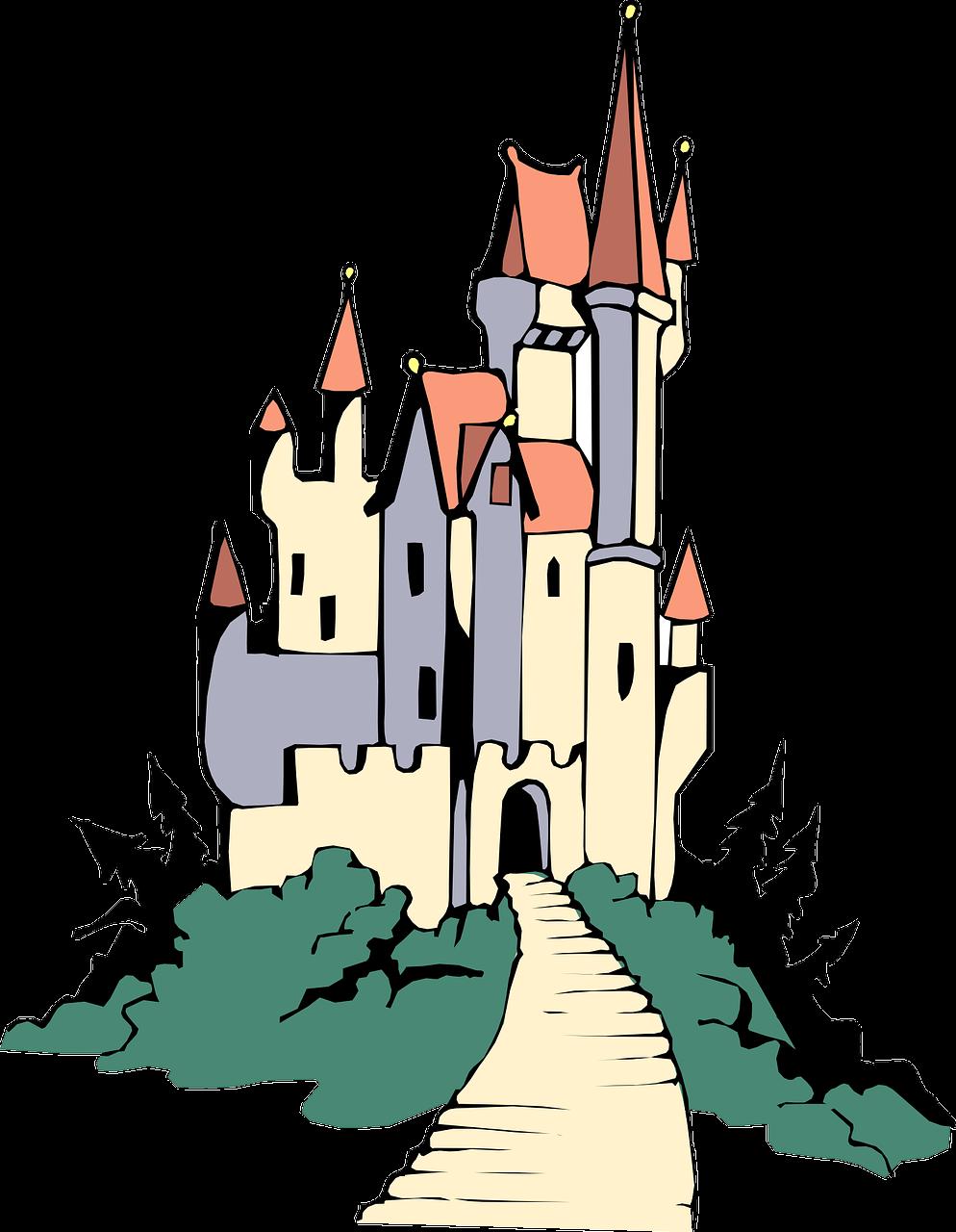 Fairytale clipart king castle. English historical fiction authors