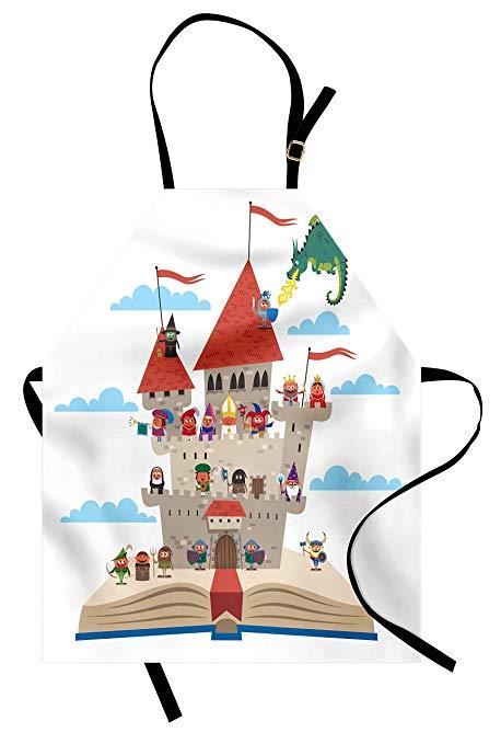 Amazon com lunarable medieval. Fairytale clipart king castle