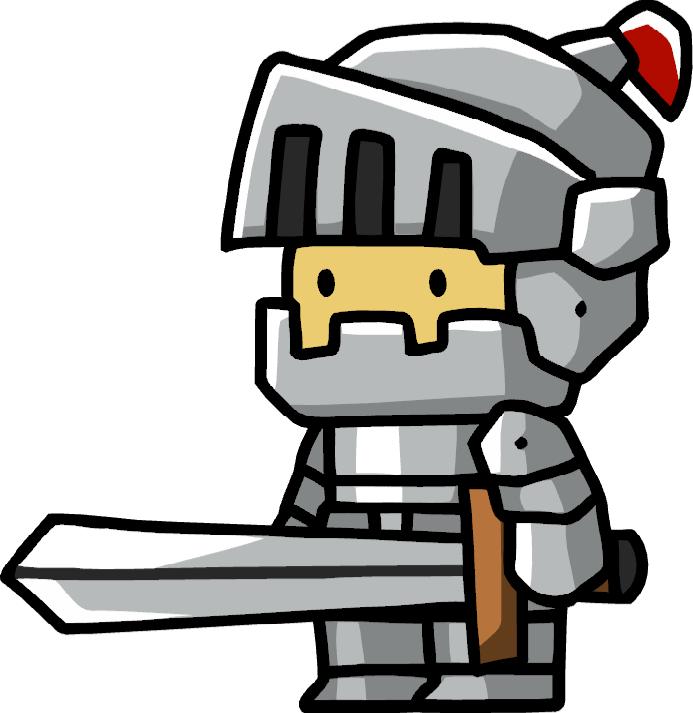 Knight scribblenauts wiki fandom. Knights clipart medieval war