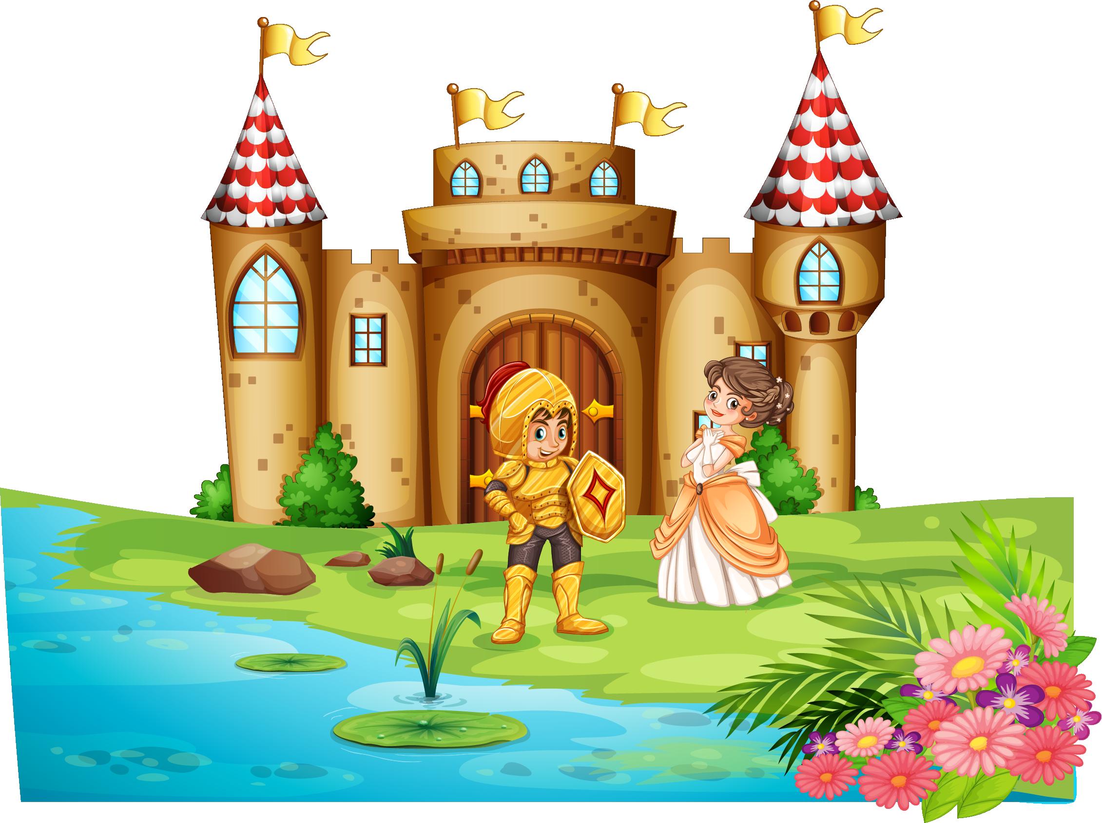 Fairytale clipart landscape. Castle clip art fairy