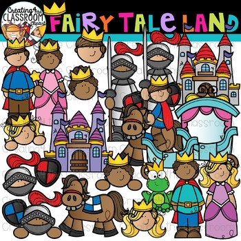 . Fairytale clipart magic