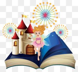 Free download fairy tale. Fairytale clipart magic book