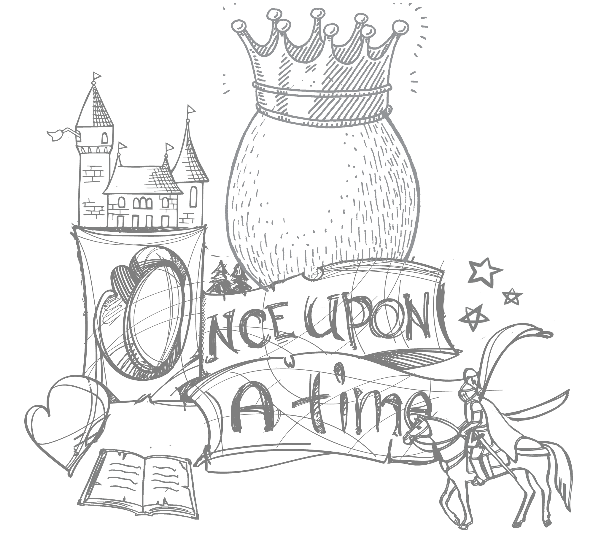 Estonia the egg born. Fairytale clipart magic book