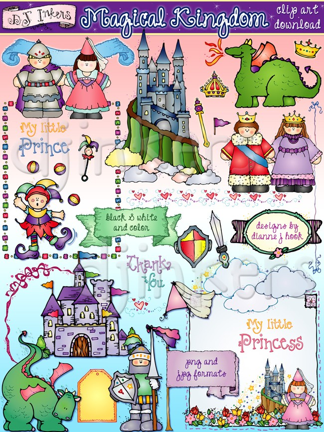Fairytale clipart magic. Fantasy clip art downloads