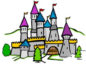 Fairytale clipart middle ages. Fairy tale castle free