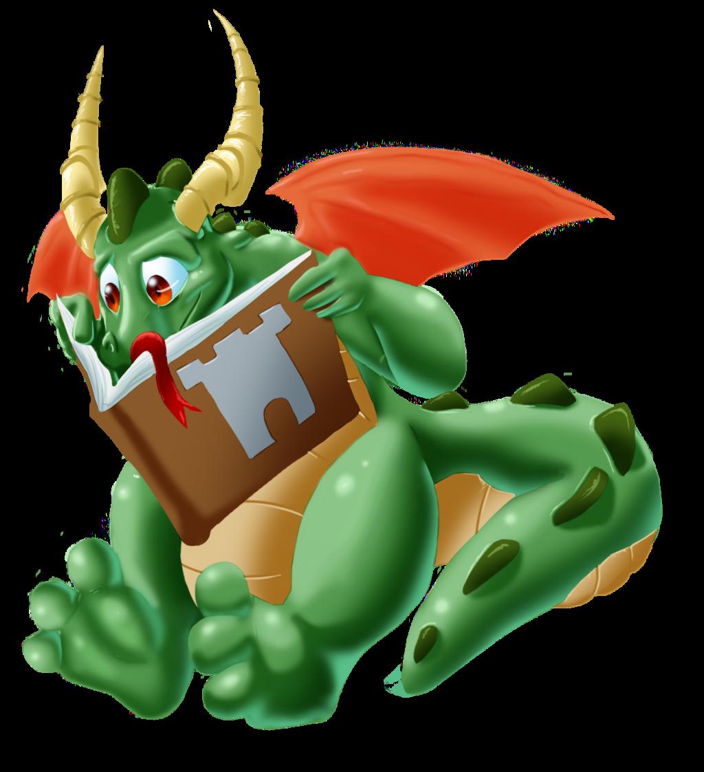 Fairytale clipart mythical beast. Fairy tale dragon by